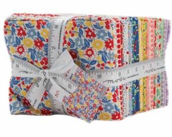 SUMMER SALE - 30s Playtime 2017 - Fat Quarter Bundle (40) - Chloe's Closet for Moda Fabric