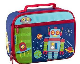 Personalized Stephen Joseph Robot Lunchbox