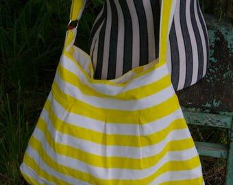 Tiffany's  Hip Bag - Yellow Stripe