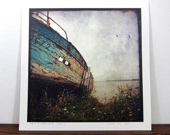 Boat #2-Brittany - expo 30x30cm print - signed and numbered