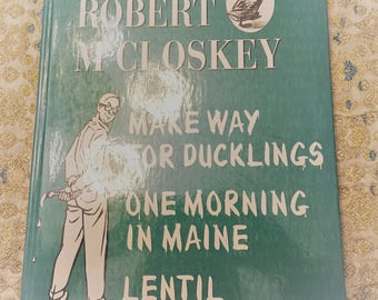 The World of Robert McCloskey 3 Classics in One Volume  1998