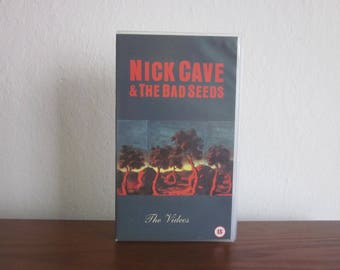 Nick Cave and The Bad Seeds The Videos Mute Records VHS Tape