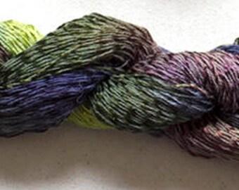 Candy Twist, Hand Painted yarn, 300yds - Deep Woods