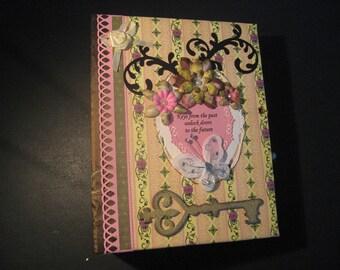 Premade Scrapbook Mini Album with HEARTFELT CREATIONS Handmade by CHRIS