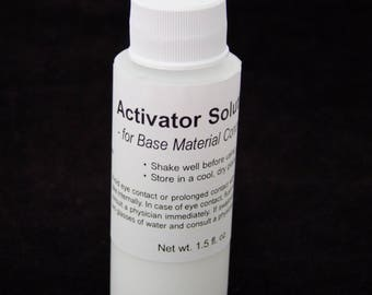Activator Solution For Artisans Base Material Concrete 1.5 oz