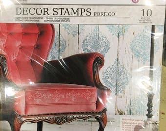 Decor Stamps PORTICO ~ Iron Orchid Designs
