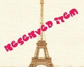Reserved for KARINE