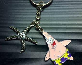 Keychain, Patrick, Starfish  KC19