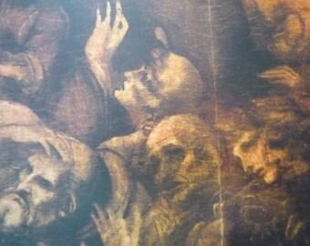 Da Vinci - Adoration of the Magi - - detail- Fine Art Print - Italian Renaissance Framable  for art lovers