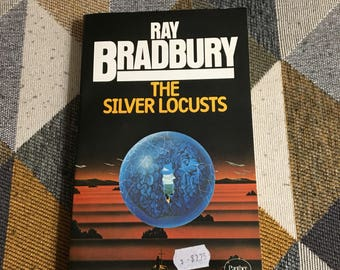 Vintage The Silver Locusts Ray Bradbury 1977 Book