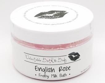 Frothy Milk Bath - Pick Your Scent - Medium Size