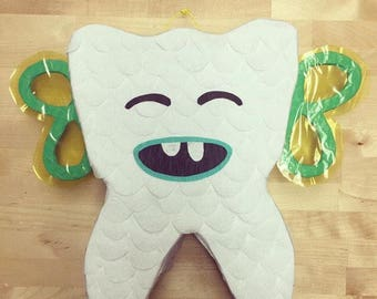 Teething Tooth Fairy Piñata - MADE TO ORDER