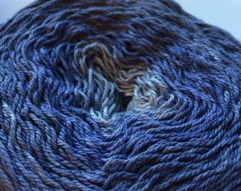 Cotton Gradient Shades of Midnight Blue