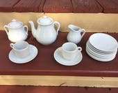 Knowles & Taylor ironstone childs tea set
