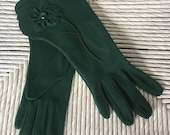 Lady gay green gloves size 7
