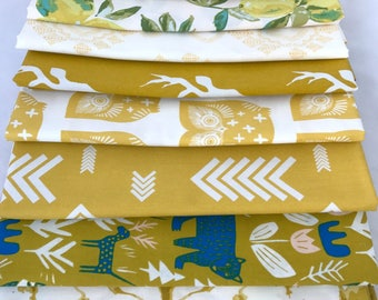 Yellow Half Yard Bundle