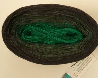 EIRE -- Color Changing Cotton yarn -- 480 yards/100 gr -- Fingering Weight