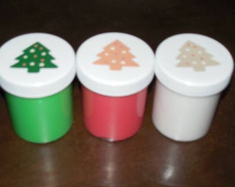 3 slimes Free shipping Christmas red scented party favors gifts stocking stuffers slime Limited Edition