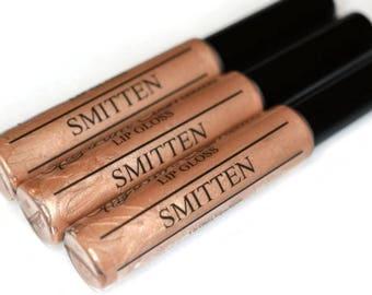 SMITTEN Nude Shimmer Lip Gloss