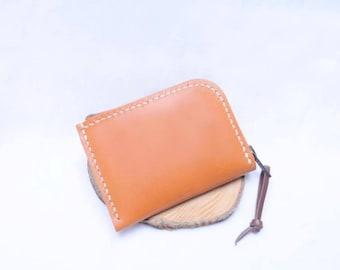 Ho-Ho-Sew Genuine Leather Zipper Wallet Purse DIY Kit