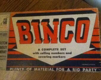 "1939 Milton Bradley ""Bingo"" game complete"