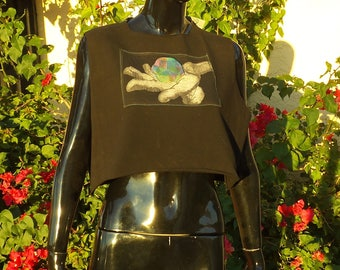Women's Crop Top - One-of-a-kind OneOFaDiMON Collaboration