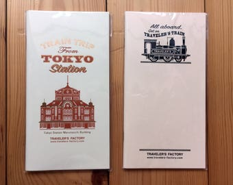 New-Traveler's Notebook Tokyo Station Edition Regular Size Refill