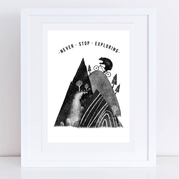 Mountain Bear 2017 - Signed print