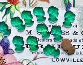 Vintage Iridescent Cameos Head cabochons, peacock cameos, color shift cameos, Chameleon Cameos, Purple, #870