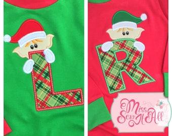 Elf Christmas Shirt, Boys Elf Christmas Shirt, Custom Christmas Shirt