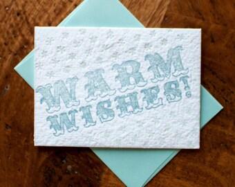 Warm Wishes - Card