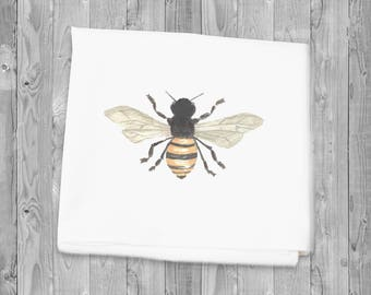Flour Sack Towel Bee Kitchen