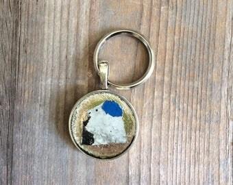 Graffiti key chain