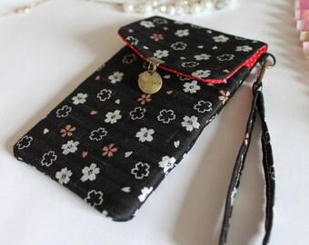 Black white phone case - Ami