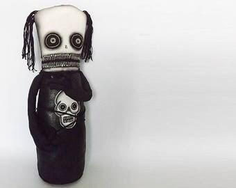 Macabre Art Doll Gothic Horror Goth Toy Dark Arts Morbid Gothic Horror