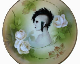 The Modern Lady Portrait Plate 6.25""