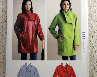 ON SALE Butterick 5928 Misses' Vest and Jacket Sewing