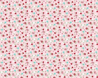 Sweetness Floral Pink from A Little Sweetness Collection by Tasha Noel for Riley Blake Designs