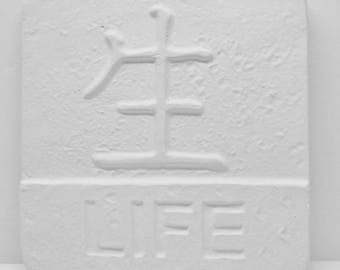 Ready To Paint/DIY/Plaster/ChalkWare/PlasterCraft Wall Décor/Wall Hanging/Wall Plaque Oriental Life #369