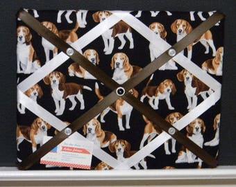 11 x 14 Beagle Memory Board