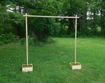 CEDAR Wedding Arch w/Support Boxes