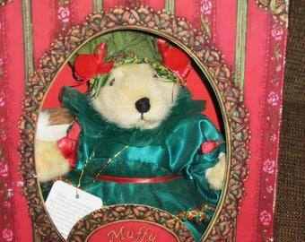 Vintage Muffy Vanderbear Little Fir Tree-New in Box-slight wear to box-sale