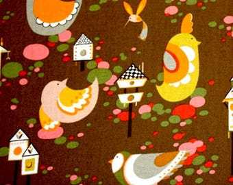 Willow wren fabric- Alexander Henry  1 Yard Fabric