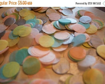 "ON SALE Candy Shoppe Tissue Confetti 3/4"" Circles"