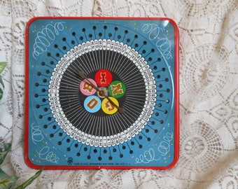Tin Bingo Game Board Vintage at Quilted Nest
