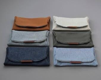Big Brother notion Case, Scissor case, DPN case, folded fabric case