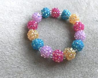 Kids' sparkly bracelet #2