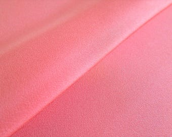 Japanese pure silk cloth from Kyoto Pink No.18