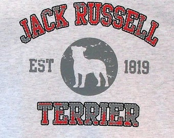 Womens TANK TOP Jack Russell Terrier Dog Choose Size and Color 17415
