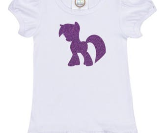 My Little Pony Twilight Shirt - My Little Pony Christmas Gift - Twilight Pony Shirt Gift Set  - Girl Gift Set - My Little Pony Shirt
